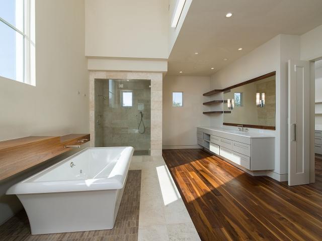 Panache Featured Custom Home Bathroom