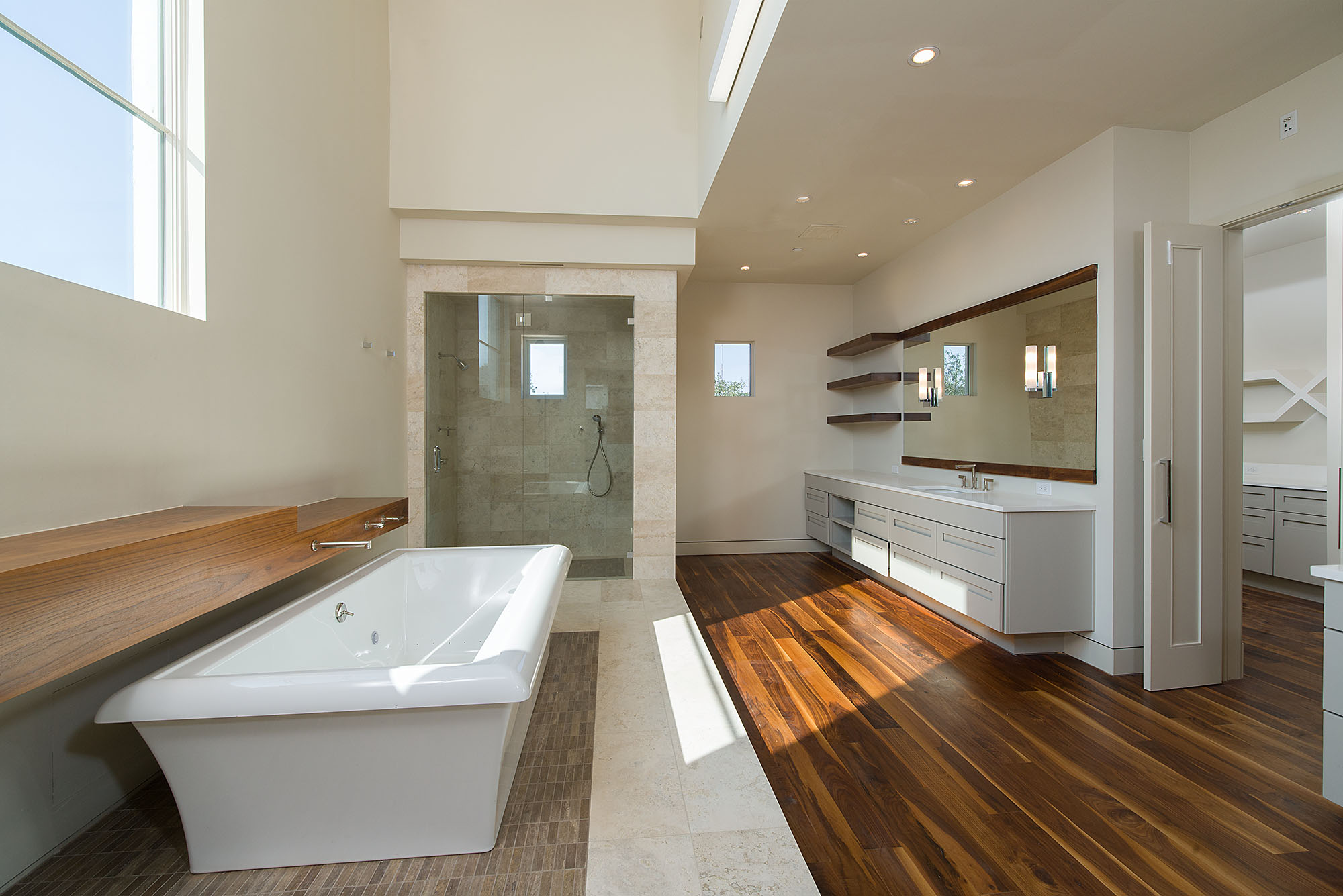 Panache Featured Custom Home Bathroom