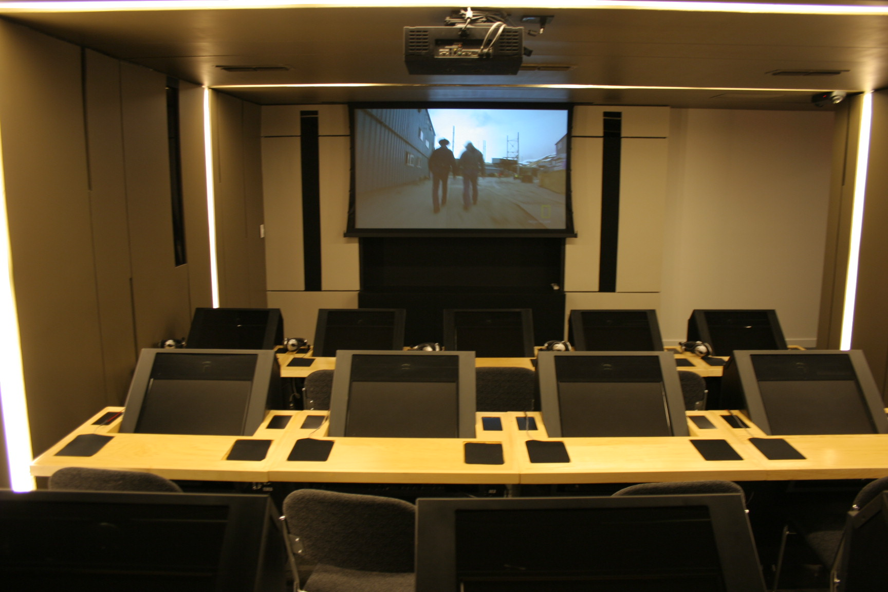 Office theater room training room
