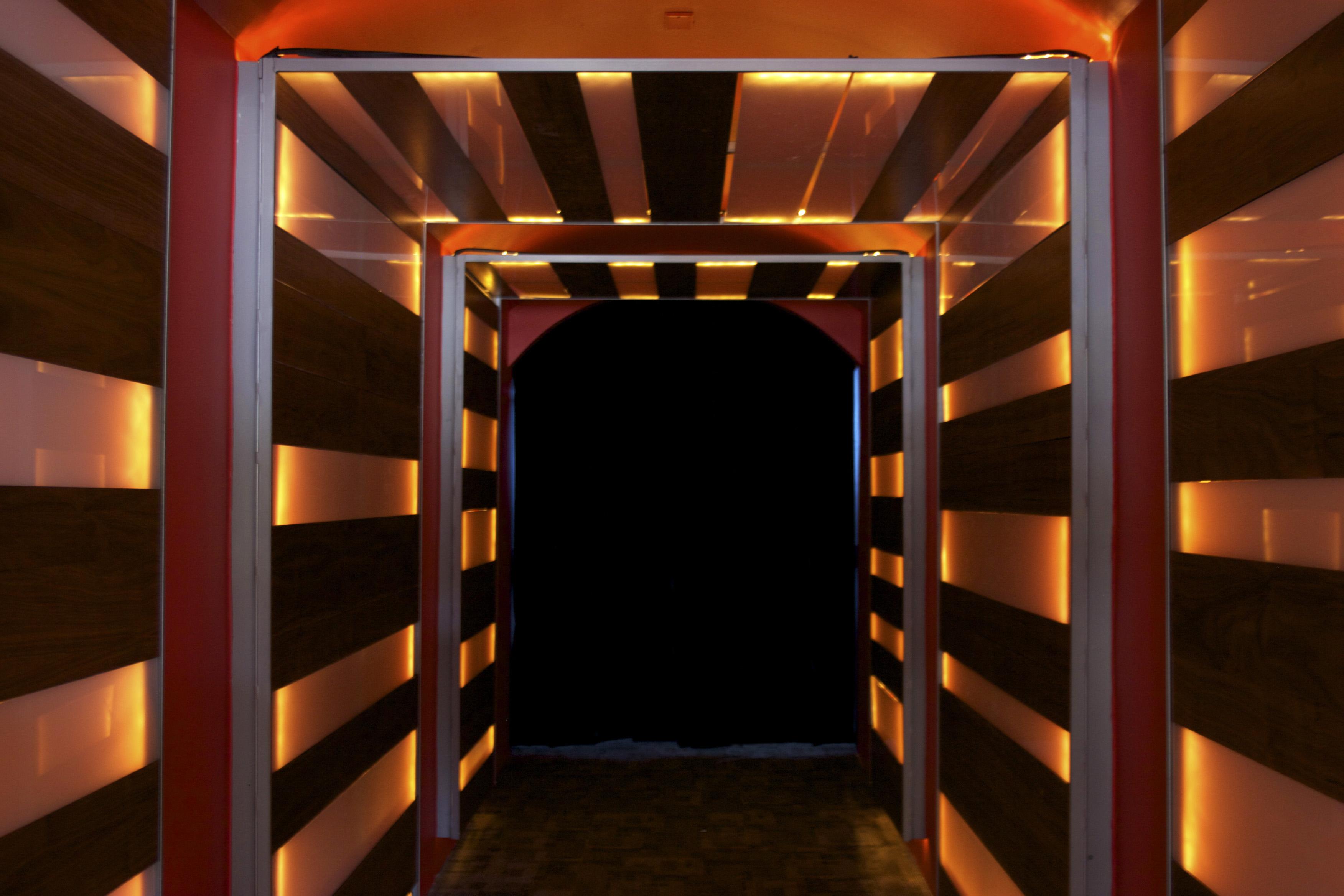 tunnel hallway