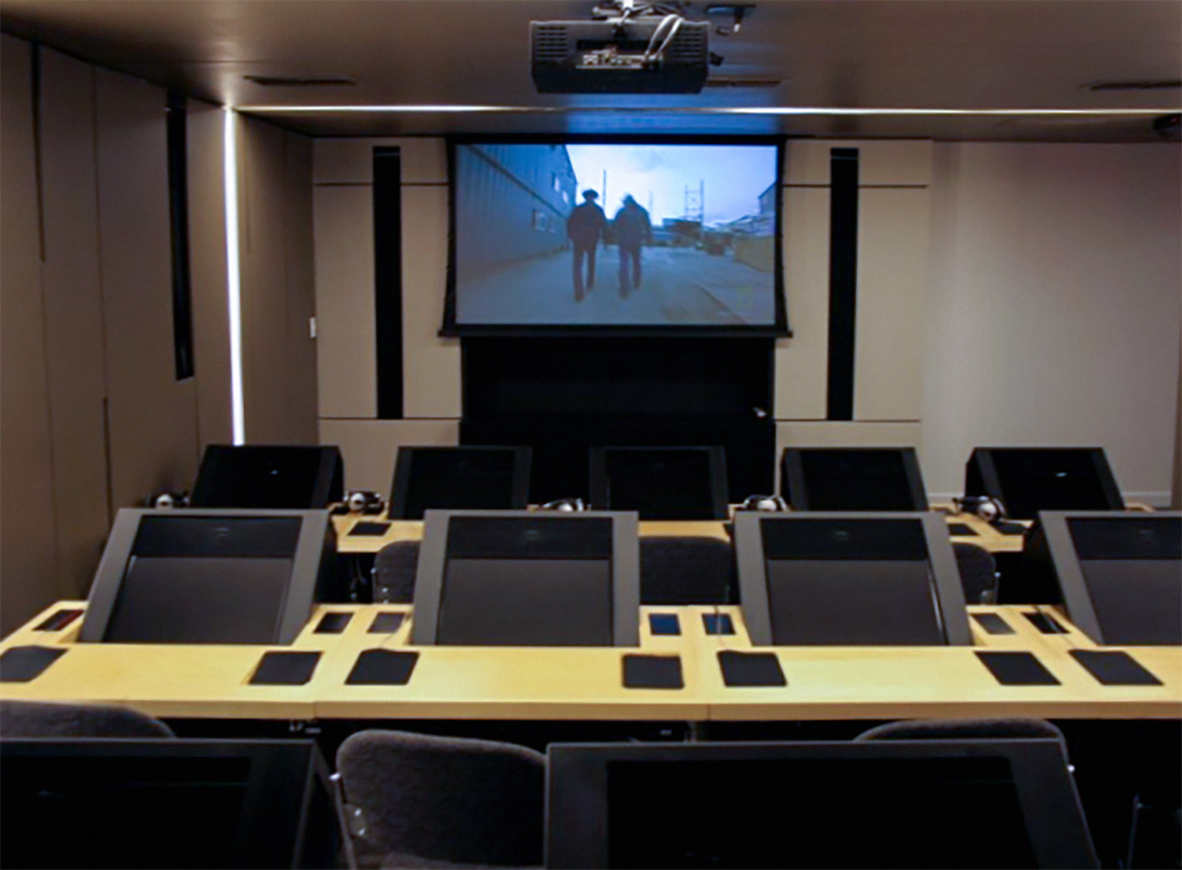 Office theater/training room